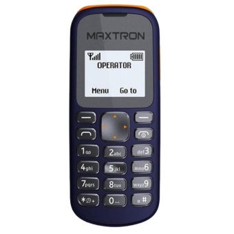 harga Maxtron C31 New Hunter - Single Sim - Dark Blue Lazada.co.id