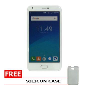 Maxtron PLUTO - 4GB - Silver + Gratis Silicon Case