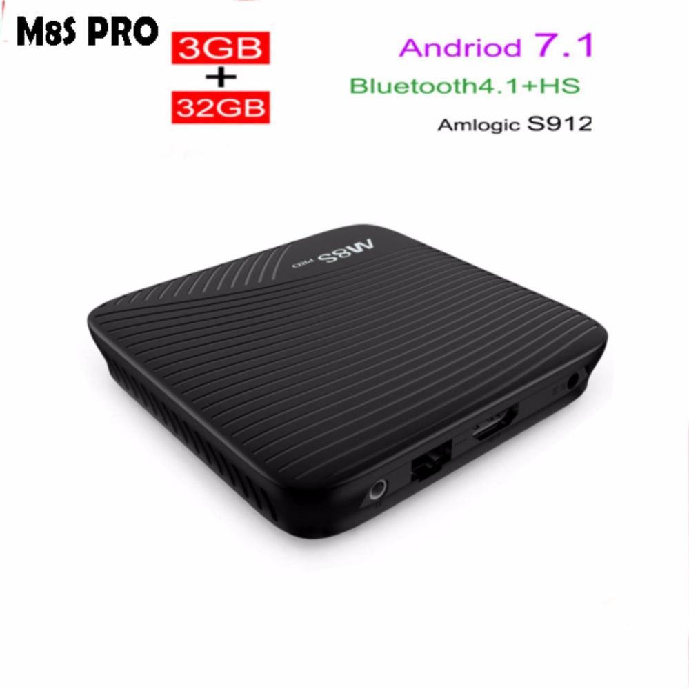 Harga Saya Mecool M8s Pro Android 71 Tv Box Ddr4 3g 32g Bt 41 H96 Plus Ram 3gb Rom 32gb Kodi Loaded Amlogic S912octa Core