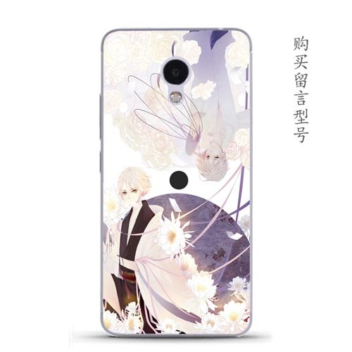 Meizu 3 s/note2/u20/u10 lembut akun kucing kartun ponsel shell pelindung