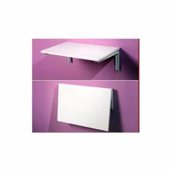 Meja Laptop Lipat Di Dinding - White