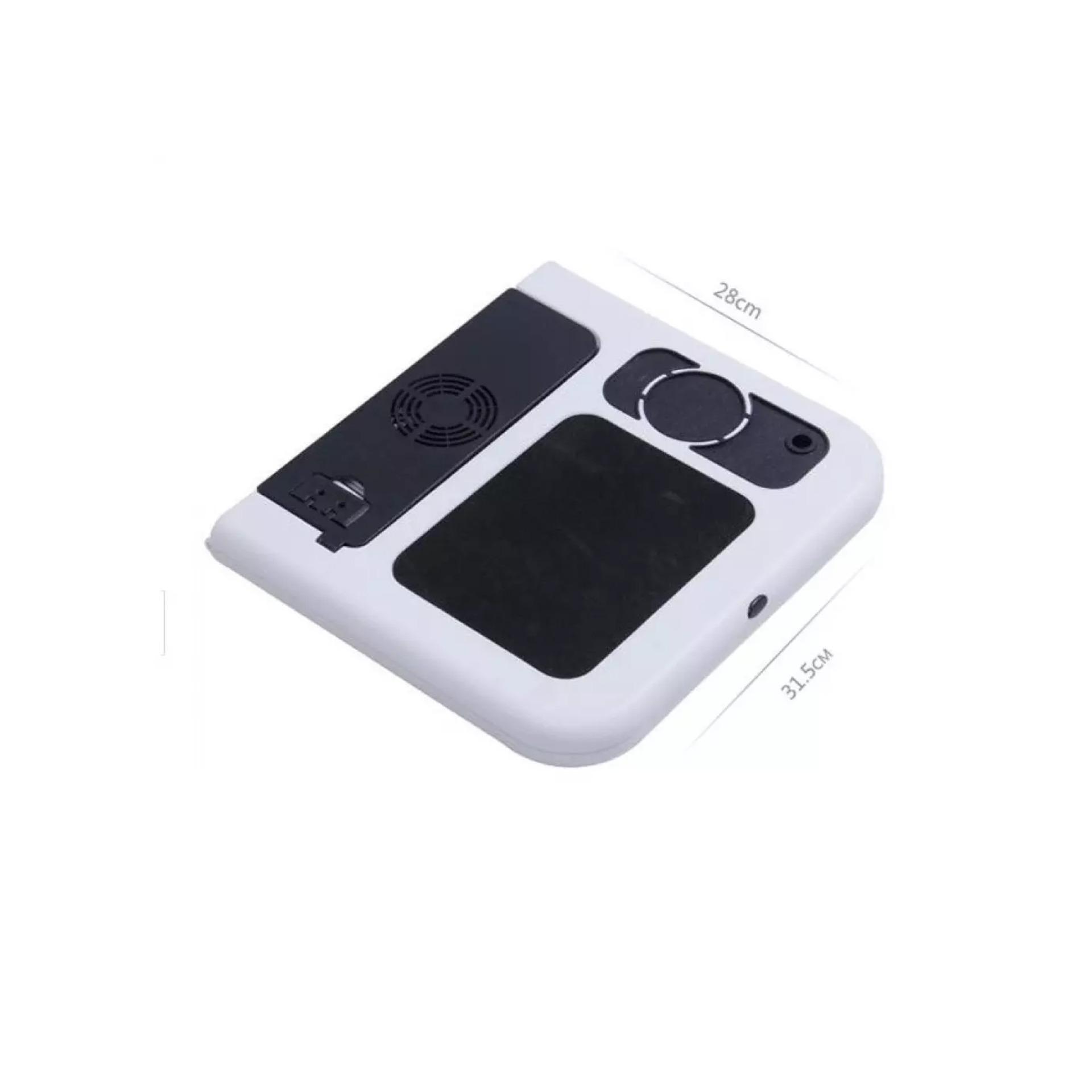 Niceeshop Laptop Pendingin Dengan Kipas Penyedot Debu Cooling Pad Bigfan Coolerpad Nc33 Meja Lipat Portable Best Seller