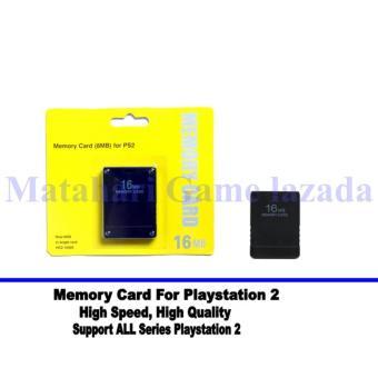 Memory Card For Playstation 2 - 16Mb Original