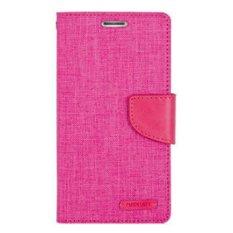 buy popular 23f84 e808a Mercury Canvas Diary Case Flip Cover Redmi Note Pink