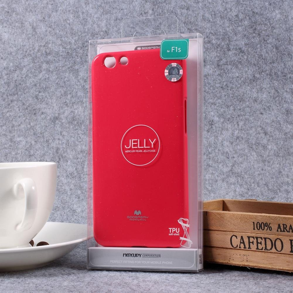Harga Baru Mercury Goospery Glittery Tpu Jelly Mobile Cover For Oppo Case F1s Blue Rose Intl
