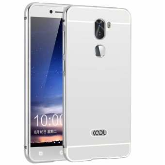 Metal Frame Mirror Back Cover Case For Coolpad Cool1 / Letv LeEcoCoolpad Cool1 Dual / Letv LeEco Cool1 (Silver) - intl