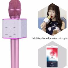 Mic Karaoke Q7 Bluetooth Wireless Microphone With Speaker Karaoke