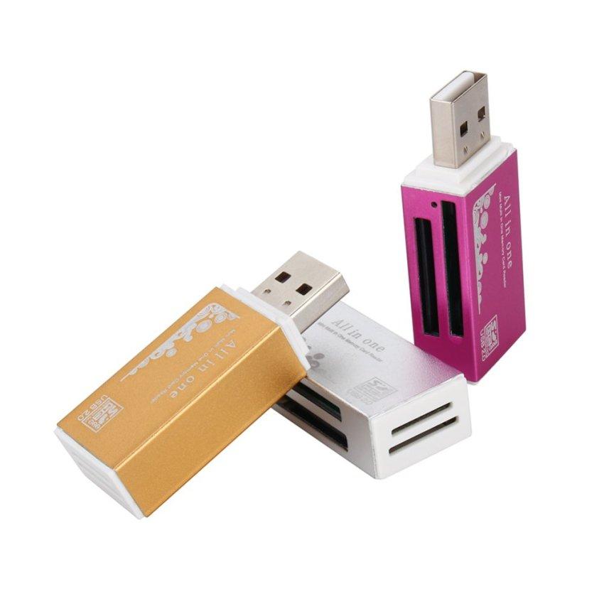 Micro SD disebut TF SDHC M2 MMC MS Pro Bandung semua dalam 1 .