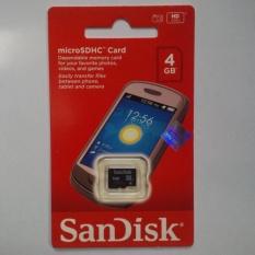 MICRO SD/MMC SANDISK 4GB class 4