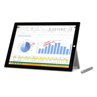 Microsoft Surface Pro 4 [Core i5, 4GB, 128GB, Windows 10] Silver