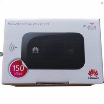 Mifi Modem Wifi 4G Huawei E5577 Unlock All Operator [BEST SELLERORIGINAL]BLACK