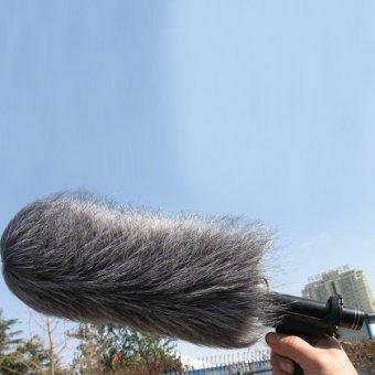 Mikrofon Bulu Kaca Depan Penutup Angin Untuk Mic121 Kamera Perekam M - 2