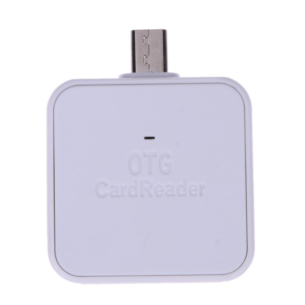... Mini 2-in-1 Micro USB 2.0 OTG Adapter SD TF Card Reader for ...