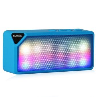 Mini Bluetooth Speaker X3S TF USB FM Radio Wireless Portable MusicSound Box Subwoofer Loudspeakers with Mic