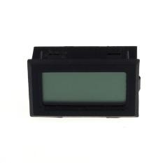 Mini Digital LCD Meteran Dalam Kelembaban Suhu Termometer Hygrometer (Hitam)