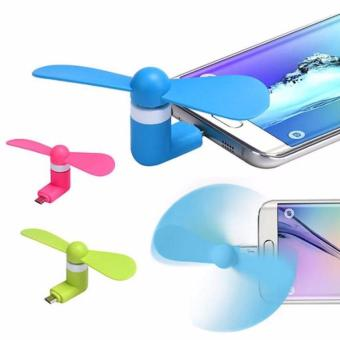 Mini Fan USB - Kipas Angin Mini Handphone Portable