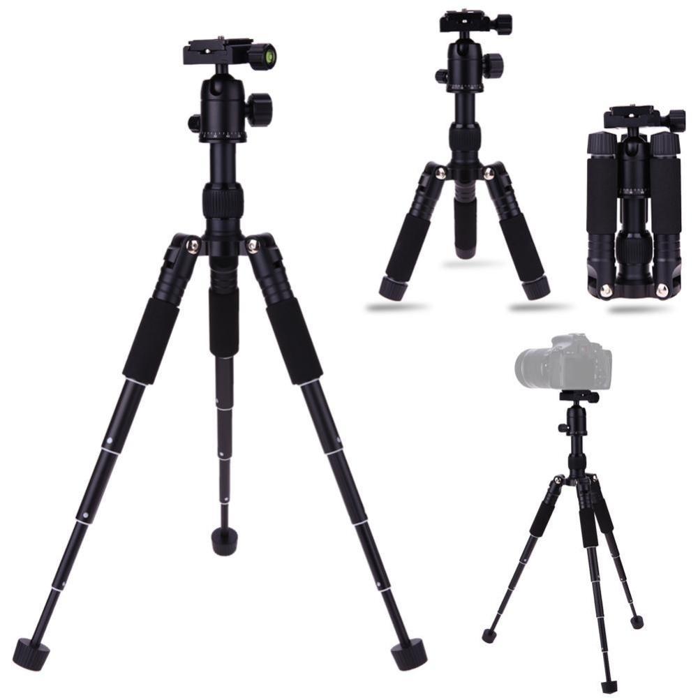 ... Dslr Black Standtiga Source · Mini Portable Aluminum Alloy Folding Tripod with Ball Head for DLSR Camera