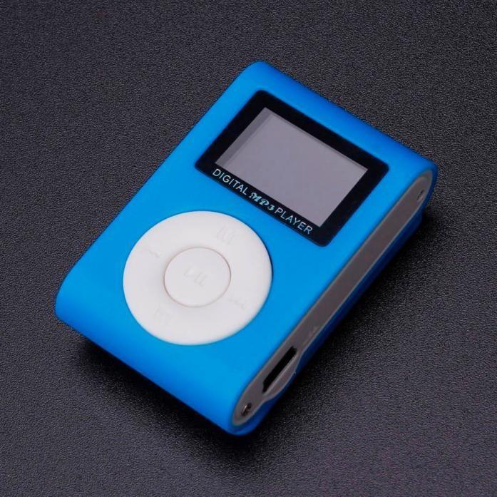 ... Mini USB Clip MP3 Player LCD Screen Support 32GB Micro SD TF Card BU - intl ...