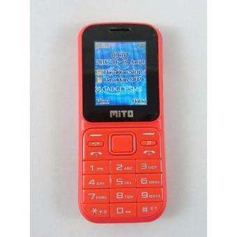 Mito 135 Dual SIM Radio FM - Merah