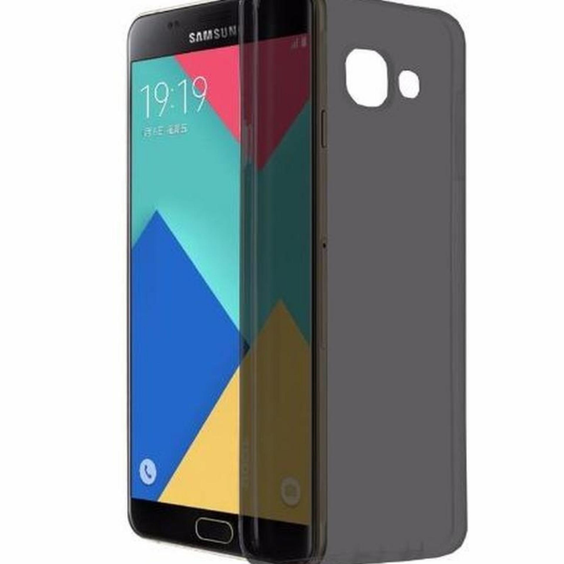 MNC Casing Handphone Softcase Ultrathin For Samsung Galaxy J7 Prime- Black .