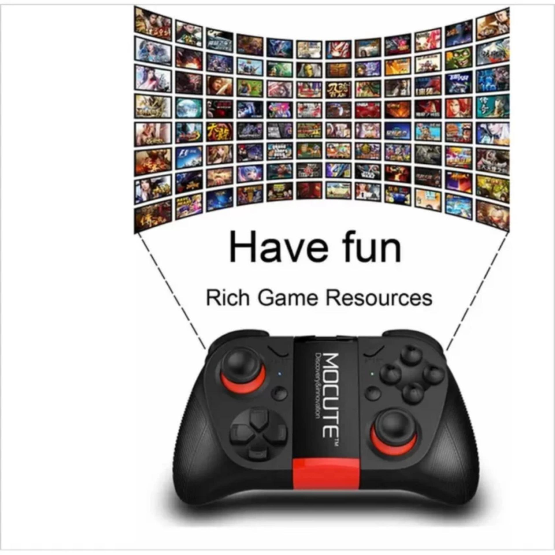 Eshop Checker Mocute 050 Wireless Gamepad Bluetooth 30 Game Terios T3 Holder Jp Android Smartphone Vr Box Tv Controller Joystick For Iphone And Phone Tablet Pc