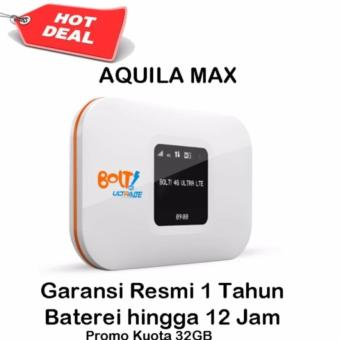 Modem Bolt Aquila MAX Wifi 4G LTE - Bonus Quota Total 32Gb