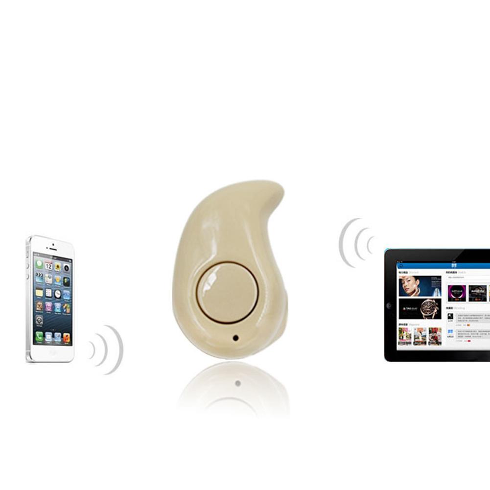 ... Moonar Fashion telinga kanan Tipe Mini nirkabel di telinga headsetBluetooth 4.1 alat pendengar diam-diam ...