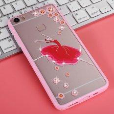 Mooncase Case For Vivo Xplay5 Rhinestone Soft TPU Bling Glitter Transparent Back Case Cover Dream ballet - intl