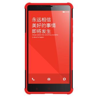 Harga Mooncase Case For Xiaomi Redmi Note Detachable 2 in 1 Hybrid ArmorDesign Shockproof Tough Rugged
