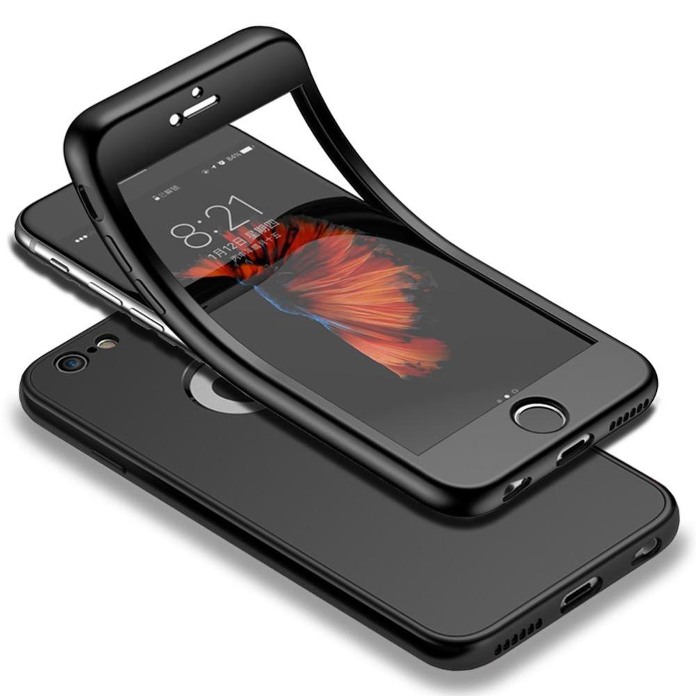 Terbaik Murah Mooncase Iphone 6s 47 Full Body Case Shockproof Soft Tpu 360 Cover 7g Plus Softshell