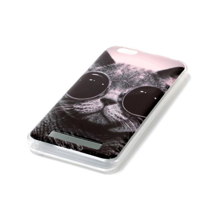 Moonmini Case for Lenovo Vibe C A2020 Lightweight Soft Silicon Back Case -