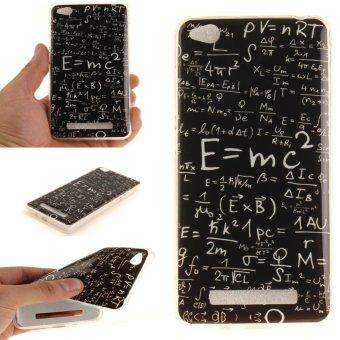 Moonmini Case for Xiaomi Redmi 4A Ultra Slim Soft TPU Back Case - Math Formulas -