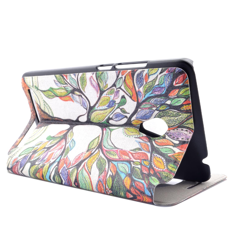 Moonmini Leather Flip View Windows Case for Asus ZenFone 6(Multicolor) .
