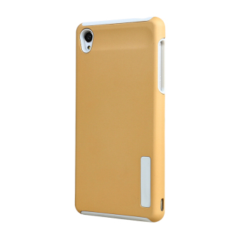 Moonmini PC /TPU Back case for Sony Xperia Z3 (Golden)