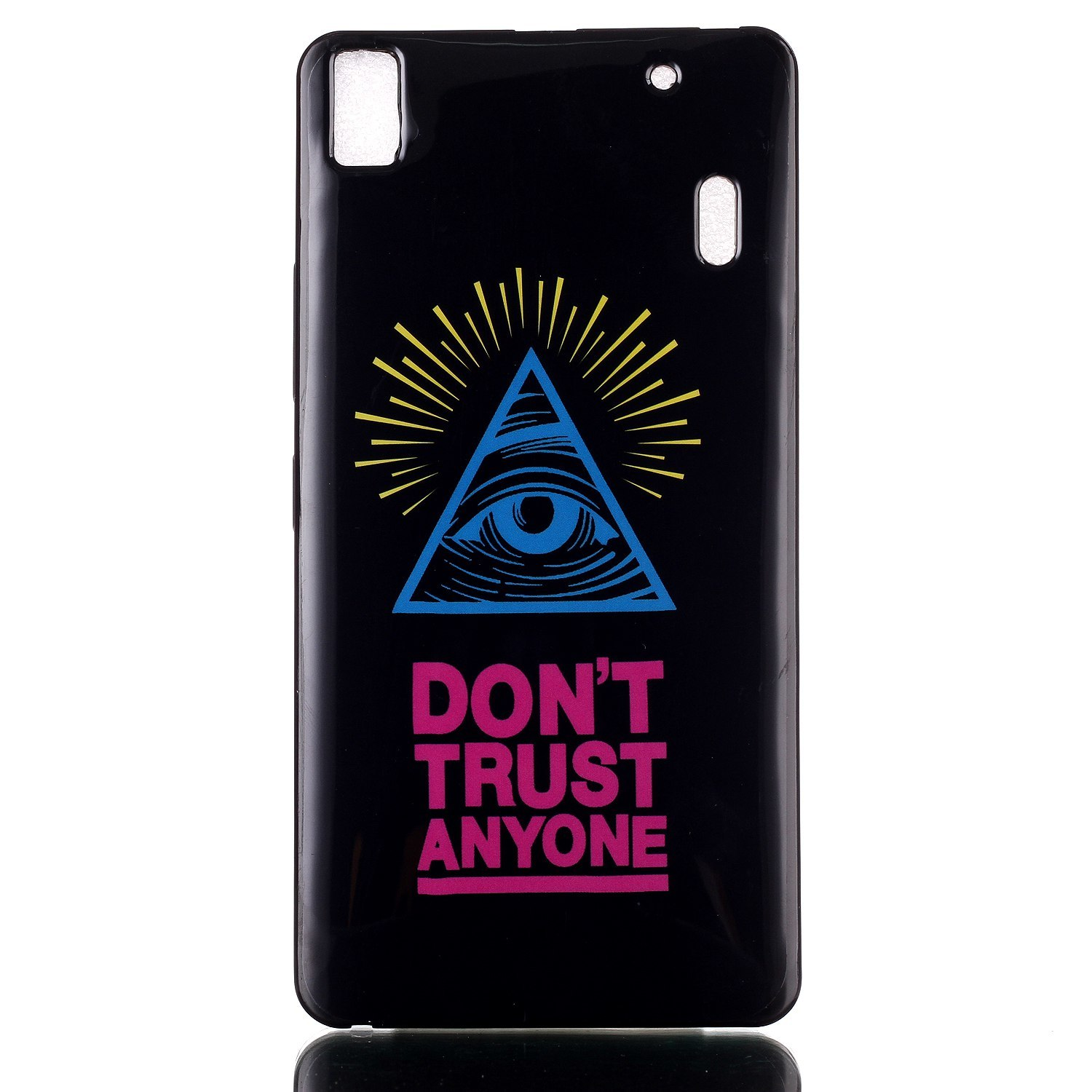 Moonmini Soft TPU Phone Back Case Cover for Lenovo K3 Note A7000 (