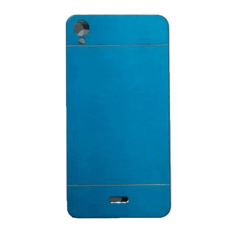 Motomo Infinix Note / X551 Metal Hardcase / Metal Backcover / Hardcase Backcase / Metal Case - Biru Muda