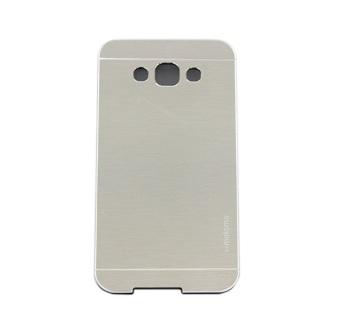 Motomo Metal Case for Samsung Galaxy E7 E700 - Silver