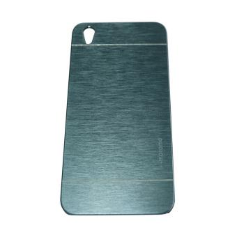 Motomo Oppo F1 Plus / Oppo F1+ / Oppo R9 Hardcase Motomo Oppo F1 Plus / Backcase / Hard Cover / Metal Case Oppo R9 / Casing HP - Biru Tua
