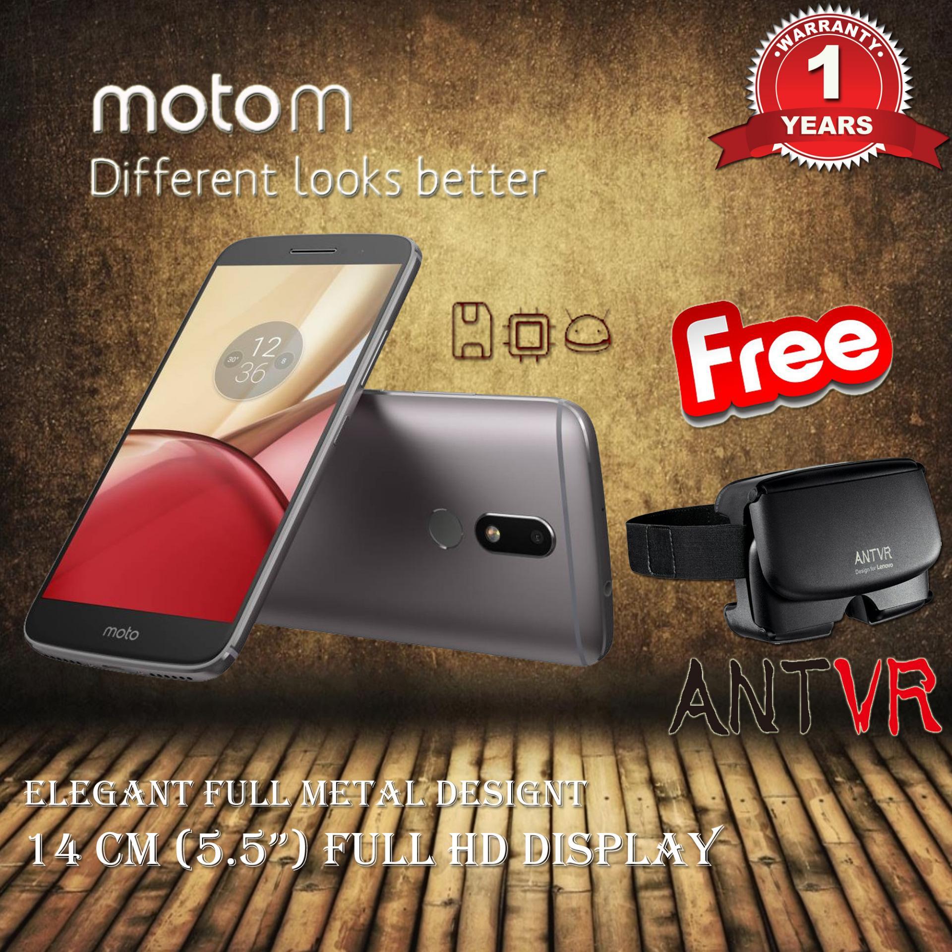 Motorola Moto M Tx1663 4gb Ram Grey Garansi Resmi Free Antvr Indonesia Z Play