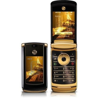 MOTOROLA RAZR2 V8 LUXURY EDITION REFURBISHED