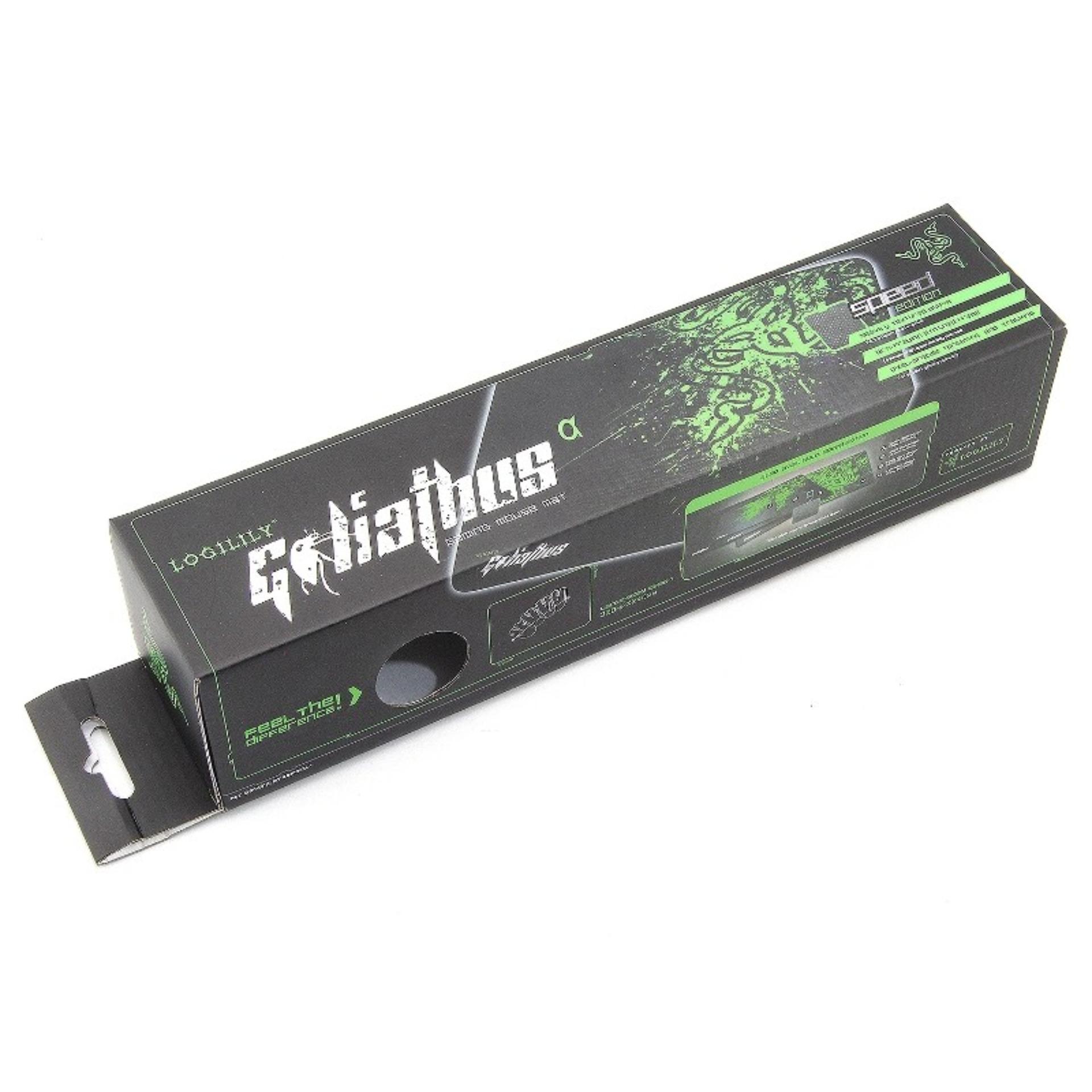 Fantech Mousepad Mp80 Extra Besar Gaming Speed Control Jahit Pinggir Mp35 Loose Pack Atau Tanpa Packing Razer Edition Jahitpinggir 310x245x3mm