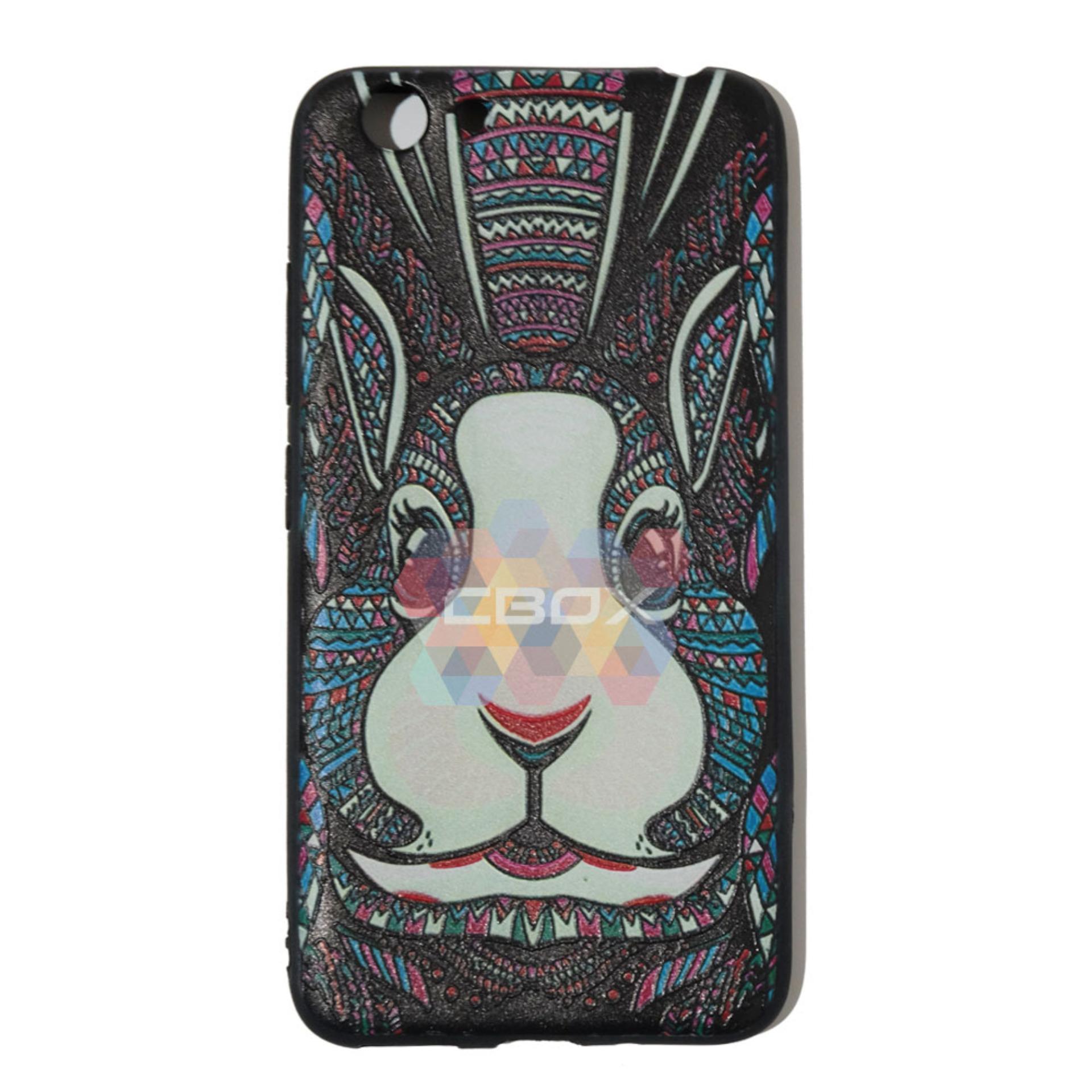 MR Case Etnic Luxo Rimba Rabbit Vivo Y53 2017 Soft Back Cover Animals .