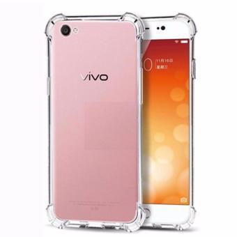 MR Soft Case Anti Crack Vivo Y51 Anti Shock Softcase Vivo Y51 /Ultrafit / Casing Vivo Y51 / Soft Back Cover Vivo Y51 / SoftshellVivo Y51 - White Clear