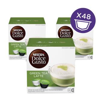 NESCAFÉ Dolce Gusto Kapsul - Green Tea Latte - 3 Box