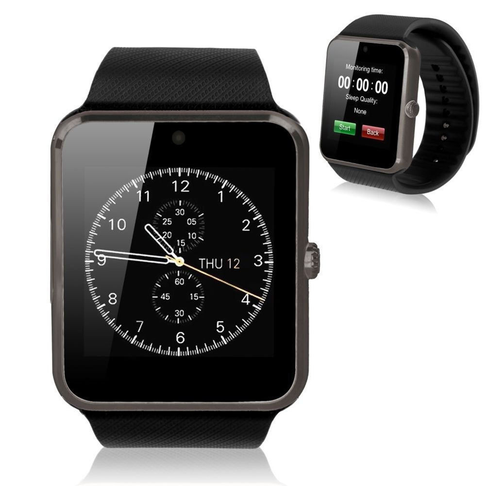 ... New GT08 MTK 1.54'' Camera 0.3MP Smart Watch w/ SIM Card For ...