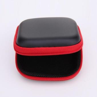 New Mini Square EVA Case Headset Bluetooth Earphone Cable StorageBox - intl - 4