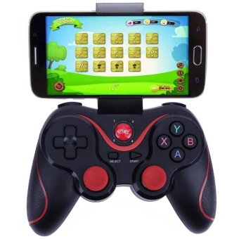 NEW T3 smart Wireless Bluetooth Gamepad Gaming Controller for Android mobile (Black) - intl - 3