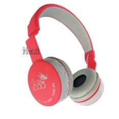 Next Headphone 288 FM TF.MP3 Bluetooth Stereo EDR Bisa Dilipat dengan Mic untuk Smartphone