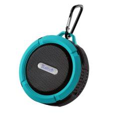 Nice EShop Wireless Bluetooth 3.0 Tahan Air Outdoor Shower Speaker dengan MIC (Biru)-Intl