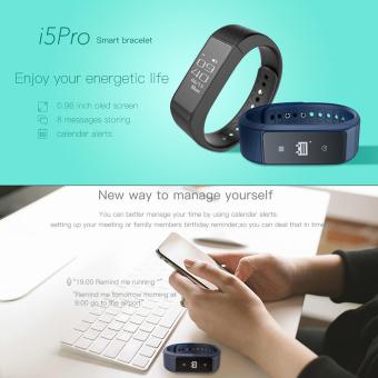 niceEshop Smart gelang Bluetooth 4.0 Tahan Air Krida pelacak Smartband (Biru)- International - 5